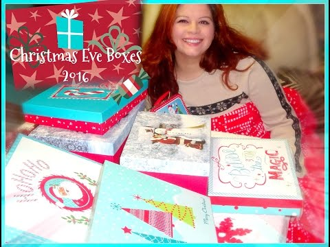 CHRISTMAS EVE BOXES 🎄 2016 (Also can be Stocking Stuffer Ideas!)