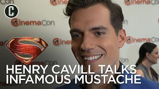 Henry Cavill on His Mustache, His Dog, and His Role in 'Mission: Impossible - Fallout'