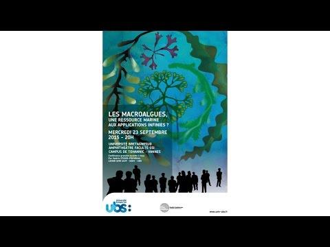 Planète-conférences Les macroalgues, une ressource marine aux applications infinies ?