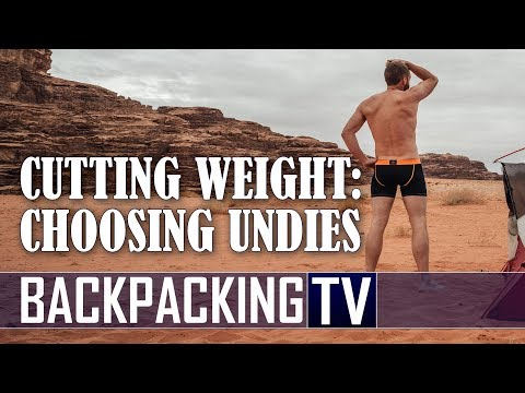 Cut Weight While Backpacking | ExOfficio Travel Underwear