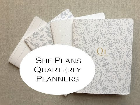 She Plans {Quarterly Planners-2018}