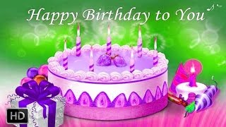 Happy Birthday Songs - Its A Happ Happ Happy Birthday (With Lyrics)