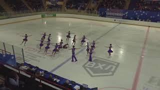 Чемпионат России по синхронному катанию MC Короткая программа 1 Дрим Тим SAM