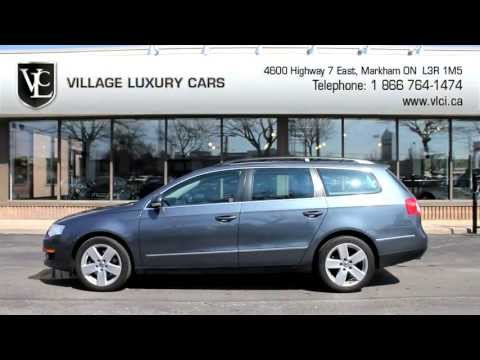 2009 Volkswagen Passat Wagon in review - Village Luxury Cars Toronto