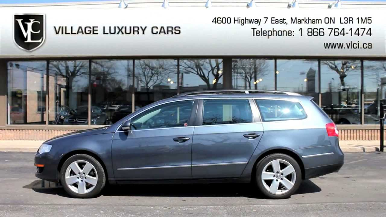 2009 volkswagen passat wagon in review village luxury cars toronto youtube. Black Bedroom Furniture Sets. Home Design Ideas