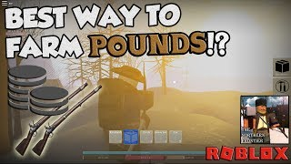 BEST WAY TO FARM POUNDS!! The Northern Frontier - Roblox