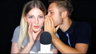 [ASMR] ♡ INAUDIBLE WHISPER + MOUTHSOUNDS | Two Person Edition
