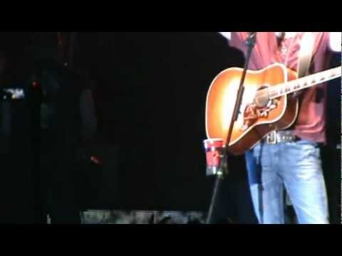 Eric Church - Springsteen, 2012 Country on the River, Prairie du Chien, WI