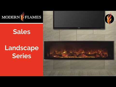 Modern Flames Electric Fireplaces - Landscape Series
