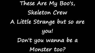 monster high fright song lyrics