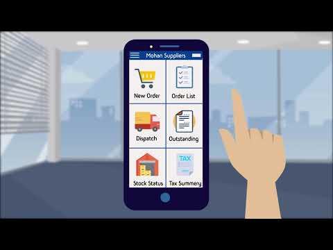 eRetail App - Retailer Online Order Mobile App [Hindi] | Helpline : 011-30969648