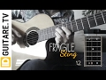 Fragile - Sting - Acoustic guitar cover + chords - Tuto guitare