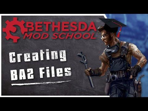 Bethesda Mod School: CK 106 - Creating BA2 Files (+uploading To Bethesda.net And Sound/texture Fix)