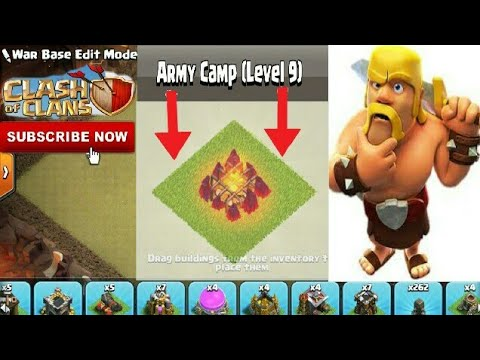 New Army Camp Level 9 in Clash Of Clans | New Max Level Army Camp | Clash With Bhargav | Hindi