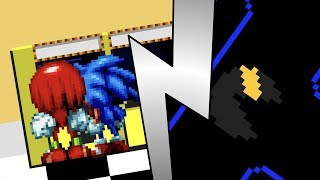 Sonic & Knuckles are Playing Pac Man (Sprite Animation)