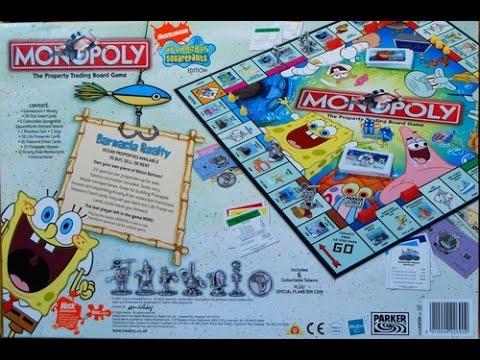 Monopoly Sponge Bob / Монополия Губка Боб