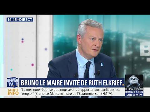 """Attaque de Hollande à Macron: pour Le Maire, """"il était en-dessous de tout"""""""