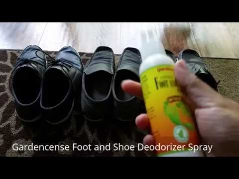 Gardencense Foot and Shoe Deodorizer Spray