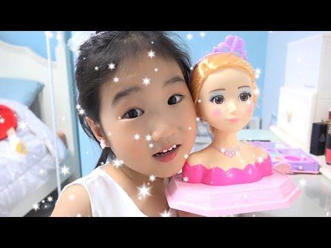 보람이의 시크릿쥬쥬 메이크업 장난감 놀이 Boram Pretend Play PRINCESS Dress Up / Makeup Toys
