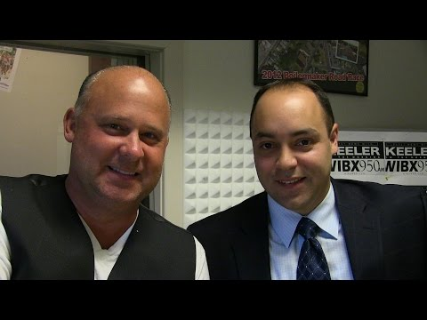 Utica Politics and Magic with Joe Marino and Robert Channing on WIBX 08122014 a