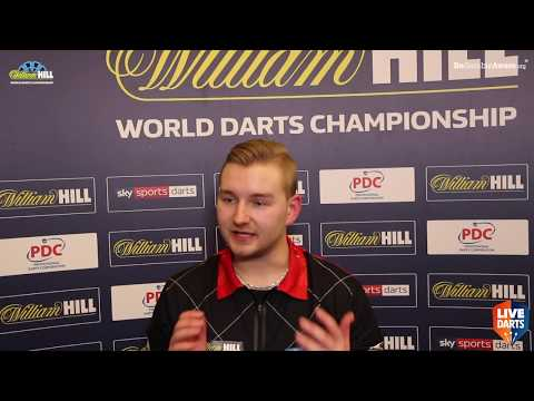 "Dimitri van den Bergh on reaching World Championship Last 16: ""I feel lucky to be through"""