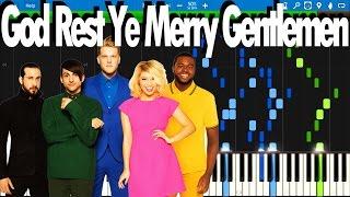 PTX - God Rest Ye Merry Gentlemen | Synthesia Piano Tutorial