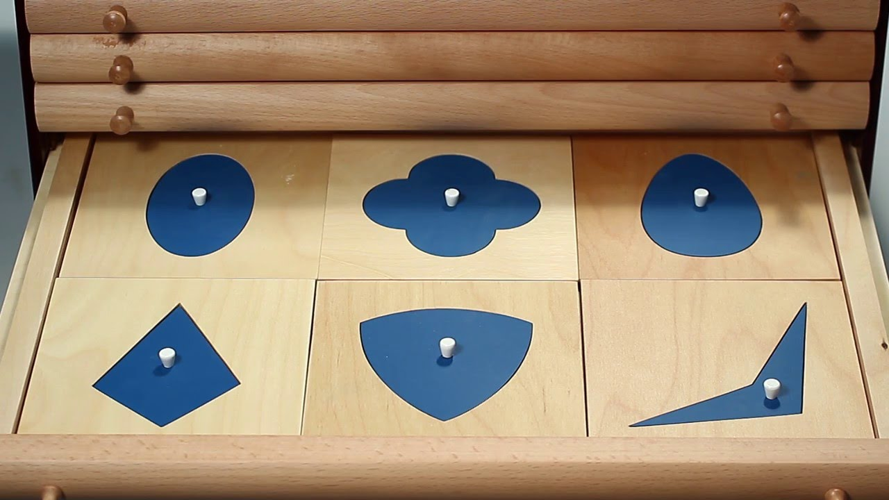 Alison's Montessori: Geometric Cabinet (Premium Quality) (PS18 ...