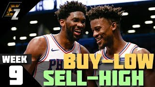 Week 9 Buy-Low/Sell-High Players Fantasy Basketball 2018-2019