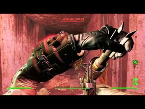 Fallout 4:  |Massachusetts State House| (Hidden Mirelurk Queen scared the s#!t out of me)
