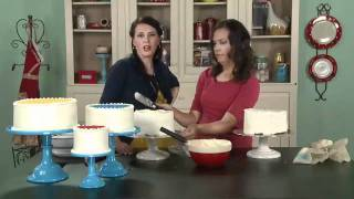 My Craft Channel: Cakes & Frosting Tips From One Charming Party