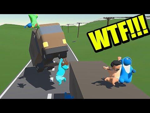 El camión asesino - GANG BEASTS ONLINE