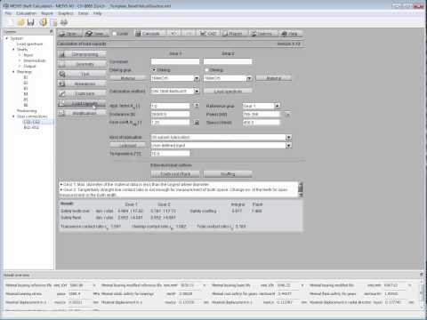 MESYS Shaft System Calculation - Interface With GWJ EAssistant