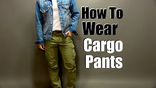 How To Wear Cargo Pants| Slim Fit Cargo Pant Styling Tips Thumbnail
