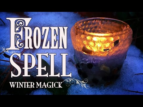 FROZEN SPELL : Winter Magick for Unlocking Manifestations ~ The White Witch Parlour