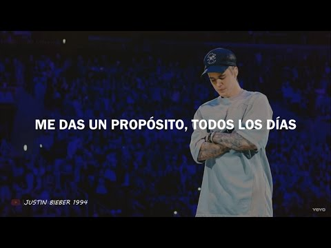 Justin Bieber Purpose Traducida Al Español Youtube