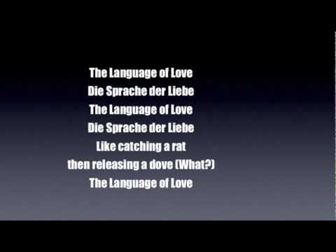 The Axis Of Awesome - The Language Of Love (Lyrics)
