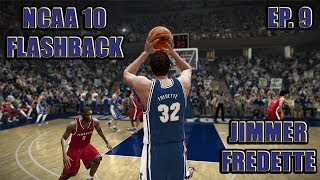 JIMMER FREDETTE COLLEGE FLASHBACK | NCAA BASKETBALL 10 GAMEPLAY