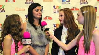THE HUNGER GAMES Annie Thurman and Dakota Hood 2012 Kids Help Children Celebrity Event