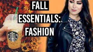 Fall Essentials: Fall Fashion, Makeup, Food