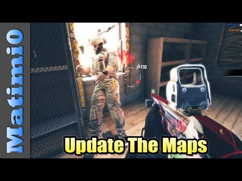 Update The Maps - Improving Rainbow Six Siege