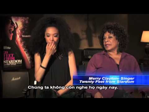 20 FEET FROM STARDOM interview: Judith Hill (The Voice), Merry Clayton và 20 FEET FROM STARDOM