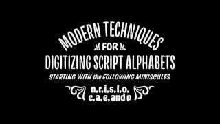 Modern Techniques for Digitizing Script Alphabets thumbnail