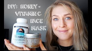 DIY Honey and Vitamin C Face Mask Recipe: Reduce Scars, Anti-Aging, Anti-Acne