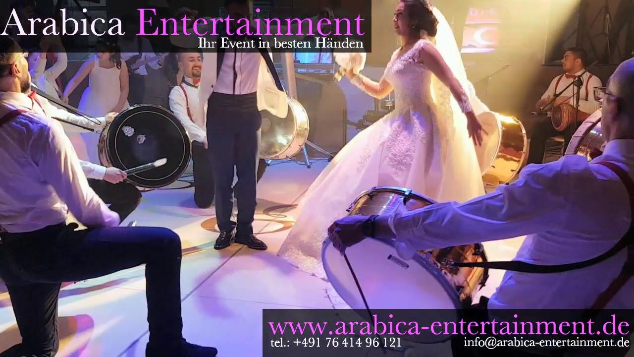 Zaffe beautiful turkish Wedding Bride and Groom Entrance Show 2018 - Arabica Entertainment -