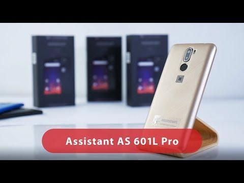 Обзор 4G смартфона ASSISTANT AS 601L PRO