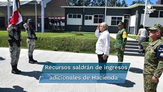 El presidente Andrés Manuel López Obrador dijo que los recursos saldrán de ingresos adicionales que tendrá la Secretaría de la Hacienda porque no se ha caído la recaudación, ya no hay condonación de impuestos