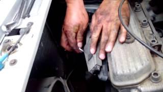 lišta montáž, zapalovací lišta Škoda Felicie