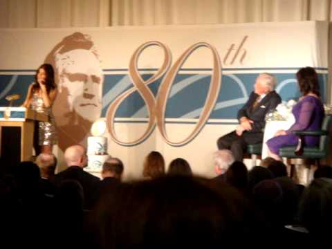 Fergie singing Happy Birthday to Don Shula on his 80th Birthday