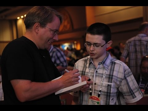 Linus Torvalds is my hero: interview of 6th Grader Zachary DuPont
