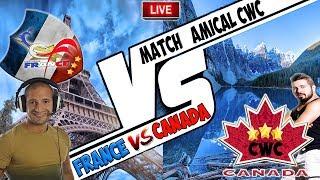 🔴 Équipe de FRANCE VS CANADA Clash of clans | Un GROS combat CWC en live